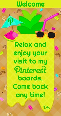 Welcome, relax and enjoy your visit to my Pinterest boards ♥ Tam ♥