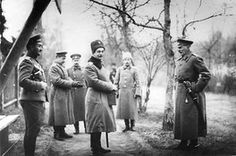 Grand Duke Andrei during the war with a group of officers at Stavka, in Baranovichi 1914–1915. The high command of the armed forces was later moved to Mogilev on 8 August 1915 due to German occupation./https://en.wiki2.org/wiki/Grand_Duke_Andrei_Vladimirovich_of_Russia