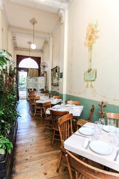 Restaurante Rosetta. Colima 166, Roma Norte #DF