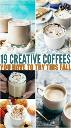 Here are a few Creative Coffee Recipes to try this fall!You can find Coffee recipes and more on our website.Here are a few Creative Coffee Recipes to try. Creative Coffee, Great Coffee, Hot Coffee, Iced Coffee, Coffee Ideas, Coffee Enema, Frozen Coffee, Coffee Club, Coffee Drink Recipes