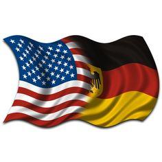 America and Germany :) Badass Tattoos, Cute Tattoos, Girl Tattoos, Tatoos, Germany Tattoo, Autism Tattoos, German Girls, Water Crafts, Bumper Stickers