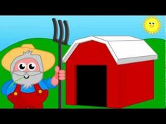 Old McDonald song in Spanish--animal names and sounds...vaca, gato, pato, cabra,