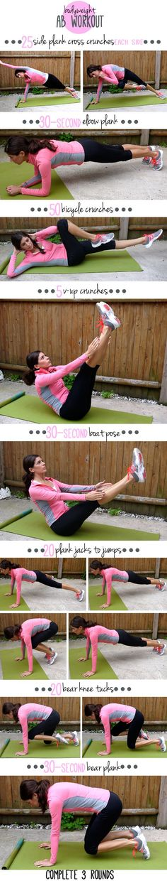 Jump Rope Ab Circuit Workout....this girl's blog has so many good work outs to print out and take with you to the gym....the less thinking involved the better
