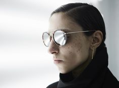DRIES VAN NOTEN X LINDA FARROW SUNGLASSES — 44store