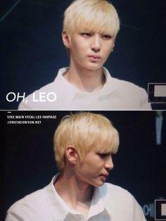 VIXX  - Leo (Jung Taek Woon) Blonde!