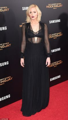 Foodie: Whilst she always looks fabulous at awards shows, Jennifer admitted that she wasn'...