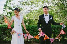 Queenie & Karl (2) Rustic Bohemian Wedding, Cebu, Designer Gowns, Creative Decor, Wedding Pictures, Garden Wedding, Shabby Chic, Bride, Couples