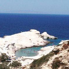 Sarakiniko, Milos Island, Greece
