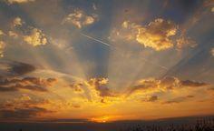 sonnenaufgang, naturaufnahme, himmelsstimmung Clouds, Celestial, Sunset, Landscape, Outdoor, Sunrise, Heavens, Landscaping, Nature