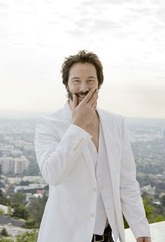 Keanu Reeves - I imagine this is what heaven looks like!
