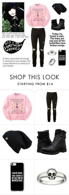 """somewhat better 😐 -Daniel"" by killjoy-717 ❤ liked on Polyvore featuring AMIRI, Timberland, Casetify, King Baby Studio, Bling Jewelry, men's fashion and menswear"