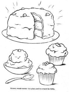 Cheeseburger Coloring Pages, how to draw a hamburger step
