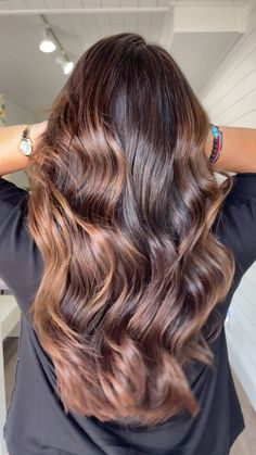 Balayage Hair Brunette With Blonde, Brunette Hair Color With Highlights, Highlights For Dark Brown Hair, Balayage Hair Caramel, Brown Hair Balayage, Hair Color Balayage, Hair Highlights, Brown Highlighted Hair, Caramel Highlights
