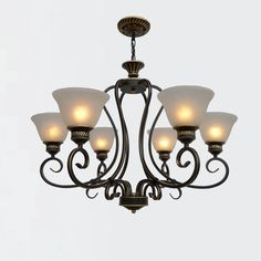 189.55$  Watch now - http://alivuu.worldwells.pw/go.php?t=32777256383 - High Quality Nordic Vintage Wrought Iron Chandelier E27 Bulb 110V-220V 6/8/10 Head  Room Loft Style Led Antique Iron Chandelier 189.55$