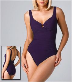Miraclesuit Escape Foam Cup With Underwire One Piece Swimsuit