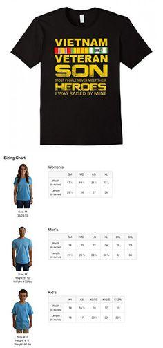 Mens Vietnam Veteran Son T shirt | Gift For US Veterans Day 3XL Black