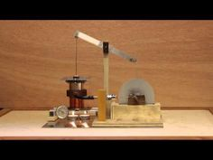Two candle powered Stirling Cycle engine.