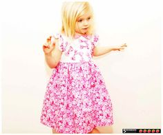 Classic GIRLS DRESS PATTERN Symphony Sewing pdf by 5Berries, $6.90