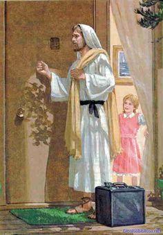 """""""JESÚS GOLPEA A SU PUERTA ¿VA A ABRIRLE?"""" REFLEXIONES PARA VOS. Lea la reflexión en el blog: http://reflexionesparavos.blogspot.com/2014/04/jesus-golpea-tu-puerta.html?spref=tw #Jesus #reflexionesparavos"""