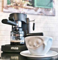 IMUSA USA GAU-18199 Espresso Maker Carafe in Gift Box Clear