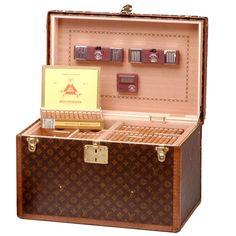 Louis Vuitton 'malle cigares', années vingt.
