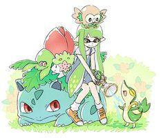 Splatoon x Pokemon - Grass Types
