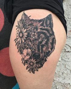 Flaunt your tattoo and express your beliefs through these commendable wolf tattoo designs. For more inspiring wolf tattoos ideas, browse post. Inner Arm Tattoos, Inner Forearm Tattoo, Leg Tattoos, Body Art Tattoos, Sleeve Tattoos, Circle Tattoos, Wolf Tattoo Design, Tattoo Designs, Small 3d Tattoos