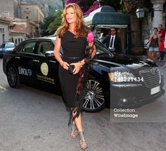 News Photo :TAORMINA, ITALY - JUNE 27: Kelly Lebrock arrives at the Lancia Cafe during the 58th Taormina Film Fest on June 27, 2012 in Taormina, Italy