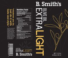 B. Smith's Packaging Redesign by Courtney M Leach, via Behance
