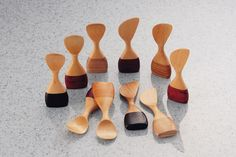 wooden spoon-scoops