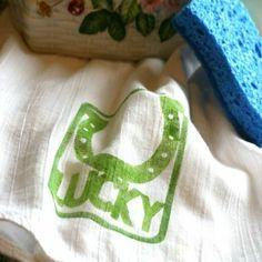 St. Patrick's Day Dish Towel