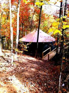 High Falls Luxury Yurt - In Cliffview Resort (RRG!)