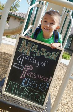 1st Day of Preschool!!
