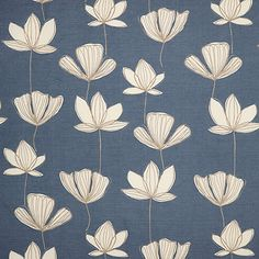 Buy Slate John Lewis & Partners Gingko Furnishing Fabric from our View All Fabrics range at John Lewis & Partners. John Lewis Wallpaper, John Lewis Fabric, Cosy Bedroom, Textured Wallpaper, Blue Walls, Fabric Online, Home Textile, Decoration, Print Patterns