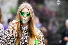 Bubbles and star shades at the Stella McCartney Resort 2013 presentation