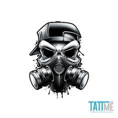 Black and Grey Temporary Tattoo Set | Tatt Me Temporary Tattoos