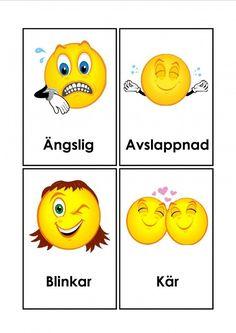 Mariaslekrum - Illustrerade känslor. Learn Swedish, Swedish Language, Emoji, Motivation, Learning, Tips, Fictional Characters, Photo Illustration, Advice
