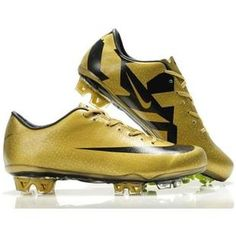 1134e00379 Cheap Nike SoccerFootball Cleats Golden black Nike Mercurial Vapor SuperFly  III FG CR7 Safari Cheap Soccer