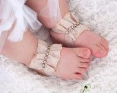 baby barefoot sandals etsy