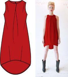 10 стильных выкроек платьев, которые идеально подойдут на любую фигуру!