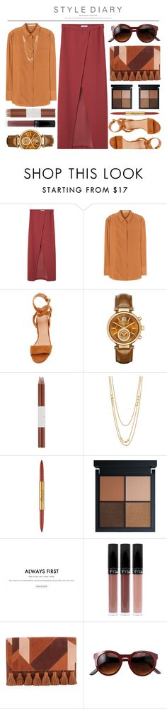 *836* by monazor on Polyvore featuring Acne Studios, MANGO, Sigerson Morrison, Rebecca Minkoff, Michael Kors, Gorjana, Bésame, Faber-Castell, Gianvito Rossi and summerstyle
