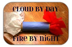 Cloud by Day Bible Craft - Moses and the Exodus