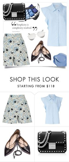 """""""Spring"""" by yourstylemood ❤ liked on Polyvore featuring Bottega Veneta, Rachel Comey, MICHAEL Michael Kors, Victoria Beckham, polyvoreeditorial, polyvorecontest and Spring2017"""