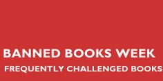 Banned & Challenged Classics | ala.org/bbooks. Wow, I've read about 10 of these, some more than once.