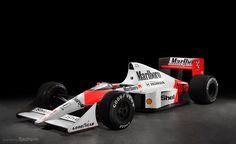 1989/McLaren Honda MP4/5 Dirt Track Racing, F1 Racing, Drag Racing, Ferrari F40, Lamborghini Gallardo, Maserati, Honda, Alain Prost, Classic Race Cars