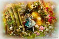 Сказочные Иллюстрации: SHU - Алиса в Стране Чудес*