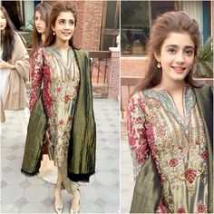 """Mehek Raza Rizvi in #SairaRizwan at an engagement.  @mehekrizvi"""
