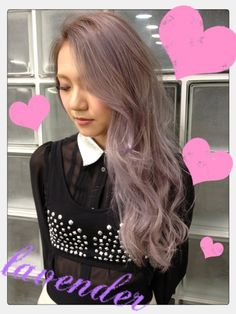 Ayano Sasaki Lavender Hair Gyaru Fashion, Asian Fashion, Japanese Models, Japanese Fashion, Lavender Hair, Different Colors, Fashion Models, Hair Color, Long Hair Styles