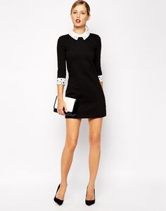 Ted Baker Dress with Lace Collar