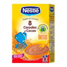 NESTLE Papilla 8 Cereales al Cacao 600g
